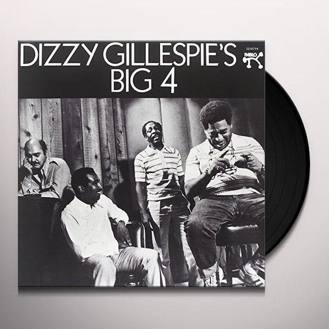 Dizzy Gillespie DIZZY'S BIG 4 Vinyl Record - 180 Gram Pressing