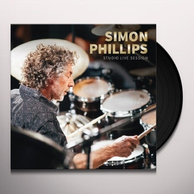 Simon Phillips STUDIO LIVE SESSION Vinyl Record