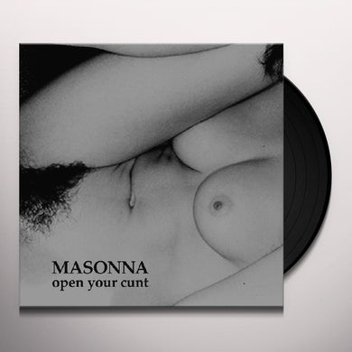 Masonna OPEN YOUR CUNT Vinyl Record