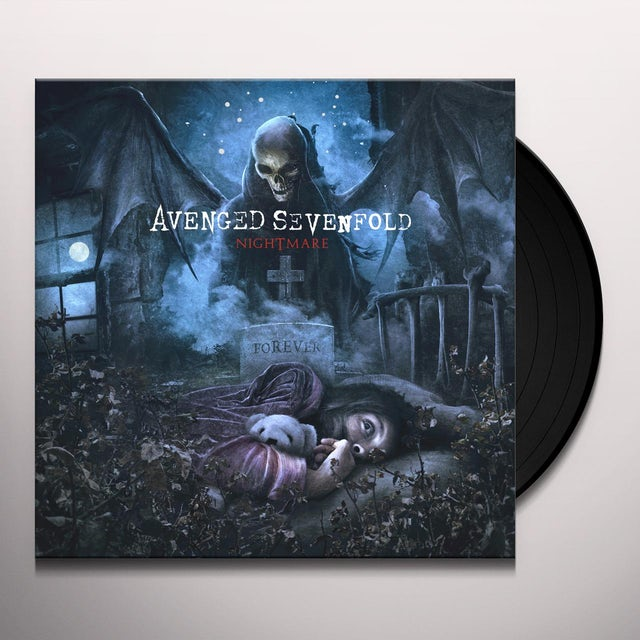 Avenged Sevenfold NIGHTMARE Vinyl Record