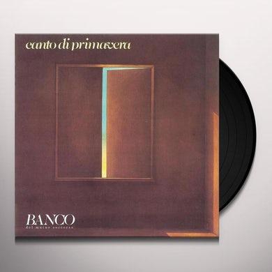 Banco Del Mutuo Soccorso CANTO DI PRIMAVERA Vinyl Record