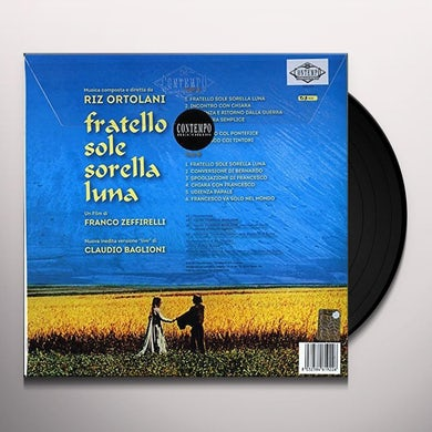 Riz Ortolani FRATELLO SOLE SORELLA LUNA / Original Soundtrack Vinyl Record