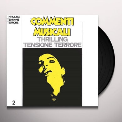 COMMENTI MUSICALI: THRILLING 2 / VARIOUS Vinyl Record