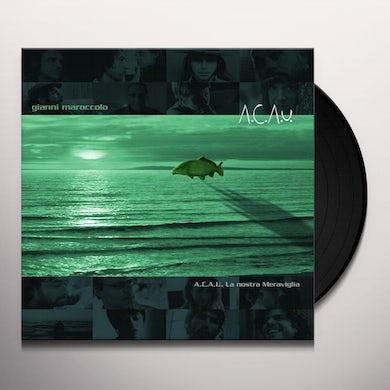 Gianni Maroccolo A.C.A.U. LA NOSTRA MERAVIGLIA Vinyl Record