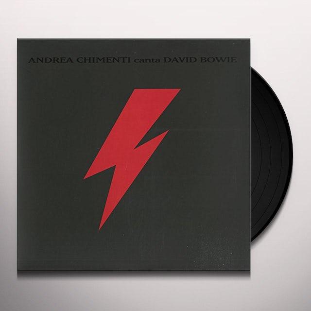 Andrea Chimenti CANTA DAVID BOWIE Vinyl Record