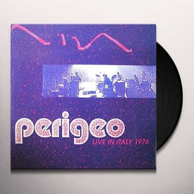 PERIGEO LIVE IN ITALY 1976 Vinyl Record