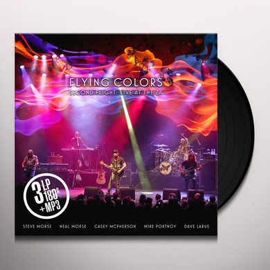 Flying Colors SECOND FLIGHT: LIVE AT THE Z7 Vinyl Record