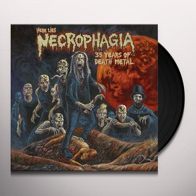 HERE LIES NECROPHAGIA: 35 YEARS OF DEATH METAL Vinyl Record
