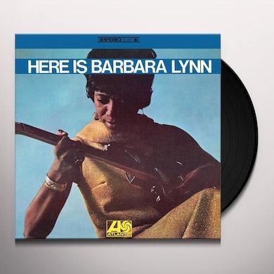 HERE IS BARBARA LYNN Vinyl Record