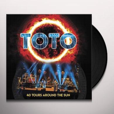 Toto 40 Tours Around The Sun Vinyl Record