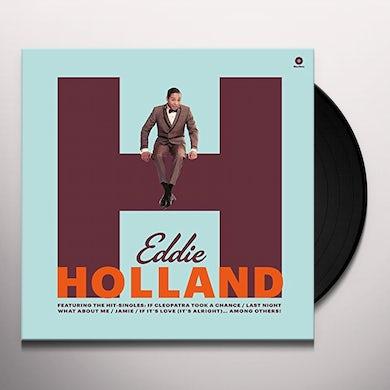 Eddie Holland FIRST ALBUM Vinyl Record - Spain Release