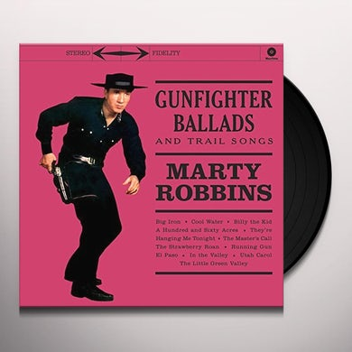 GUNFIGHTER BALLADS & TRAIL SONGS Vinyl Record - UK Release