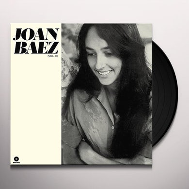 Joan Baez VOL 2 Vinyl Record - 180 Gram Pressing, Digital Download Included, Spain Release