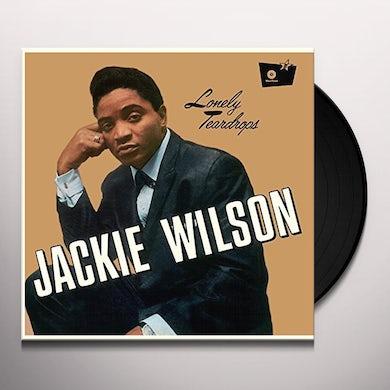 Jackie Wilson LONELY TEARDROPS Vinyl Record - UK Release