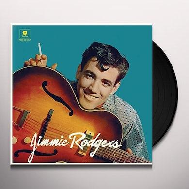 Jimmie Rodgers DEBUT ALBUM) + 2 BONUS TRACKS Vinyl Record