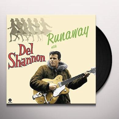RUNAWAY WITH DEL SHANNON + 4 BONUS TRACKS Vinyl Record - 180 Gram Pressing