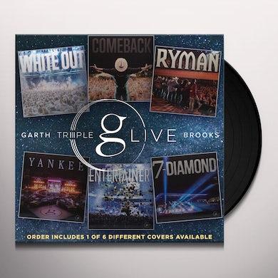 Garth Brooks Triple Live Vinyl Record