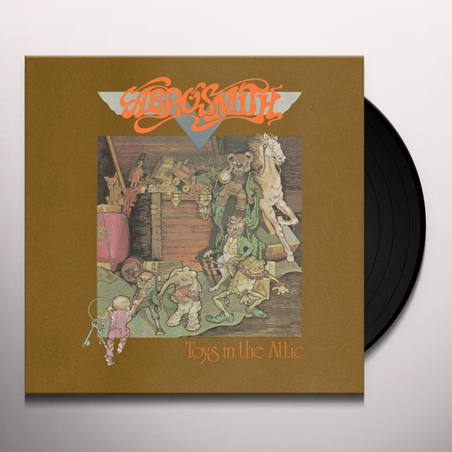 Aerosmith TOYS IN THE ATTIC Vinyl Record