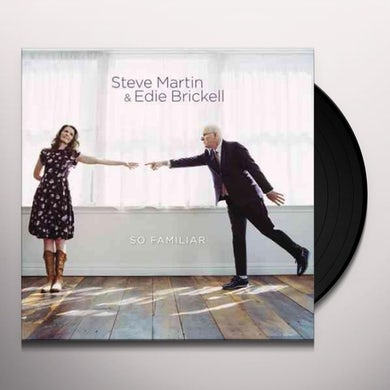Steve Martin SO FAMILIAR Vinyl Record