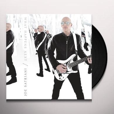 Joe Satriani WHAT HAPPENS NEXT Vinyl Record