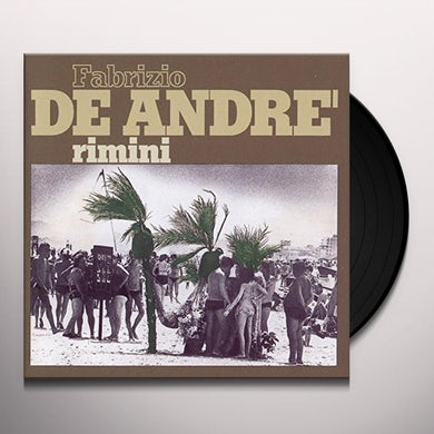 Fabrizio De Andre RIMINI Vinyl Record