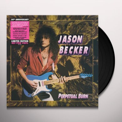 Jason Becker PERPETUAL BURN Vinyl Record