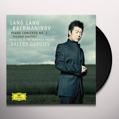 Lang Lang PIANO CONCERTO NO 2 IN C MINOR Vinyl Record