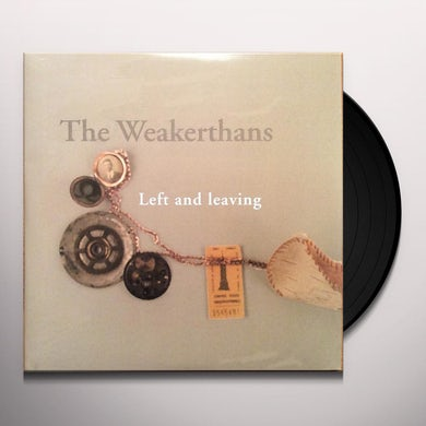 The Weakerthans LEFT & LEAVING Vinyl Record