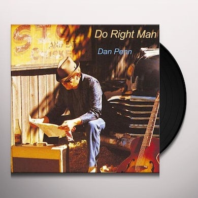 Dan Penn DO RIGHT MAN (SYEOR 2018 EXCLUSIVE) Vinyl Record