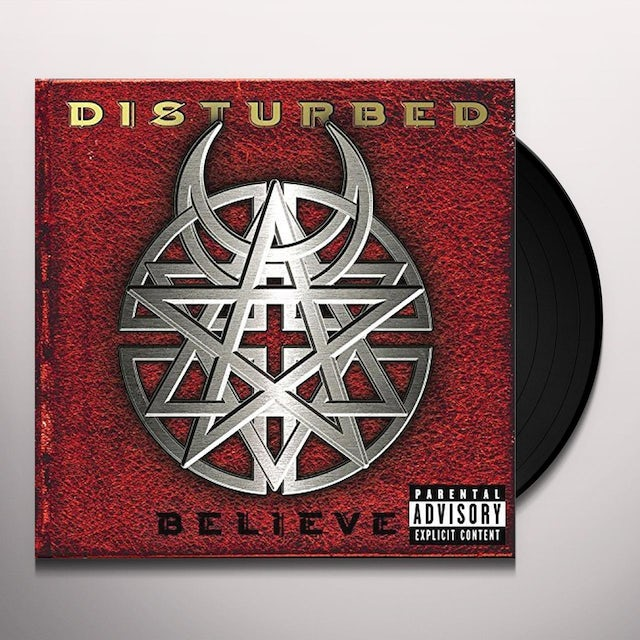 Disturbed BELIEVE Vinyl Record