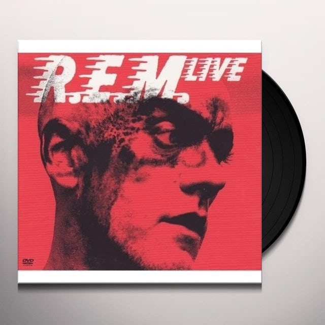 R.E.M. LIVE (BONUS DVD) Vinyl Record