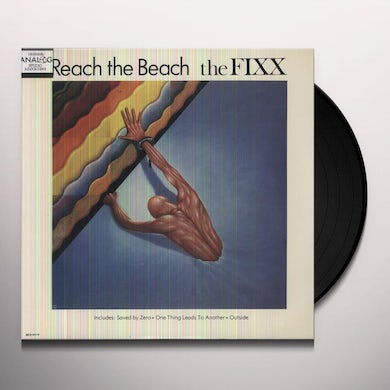 Fixx REACH THE BEACH (ONE THING LEADS TO ANOTHER) Vinyl Record