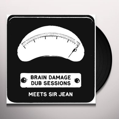 Brain Damage DUB SESSIONS Vinyl Record