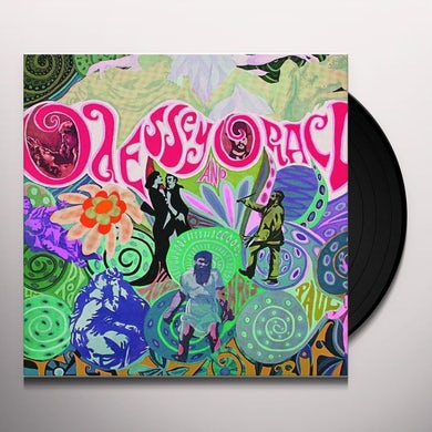 The Zombies ODESSEY & ORACLE Vinyl Record - Mono