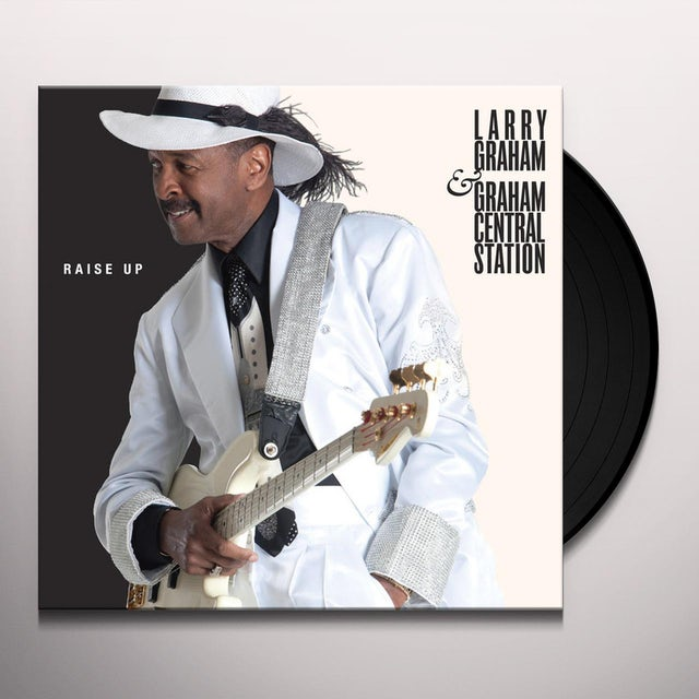 Larry Graham RAISE UP Vinyl Record