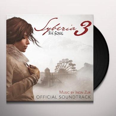 Inon Zur SYBERIA 3 / Original Soundtrack Vinyl Record