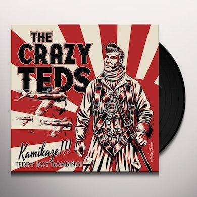 Crazy Teds KAMIKAZE TEDDY BOY BOMBING Vinyl Record