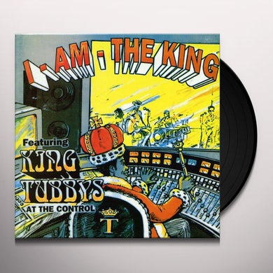 King Tubby I AM THE KING Vinyl Record - UK Release