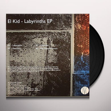 El Kid LABYRINTHS EP Vinyl Record