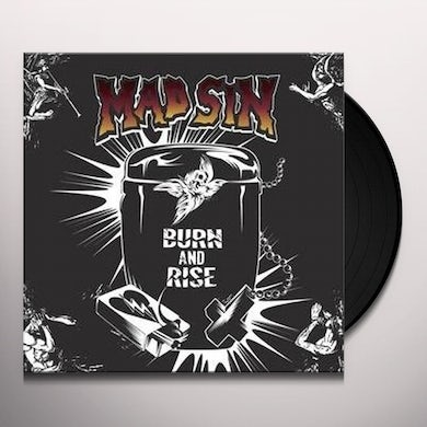 Mad Sin BURN & RISE Vinyl Record