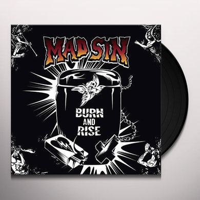 Mad Sin BURN & RISE (YELLOW VINYL) Vinyl Record