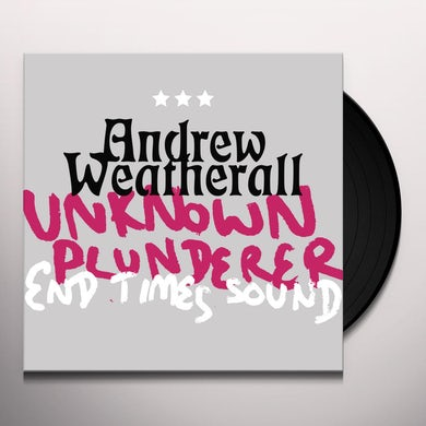 Andrew Weatherall UNKNOWN PLUNDERER / END TIMES SOUND Vinyl Record