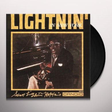 Lightnin Hopkins LIGHTNIN IN NEW YORK Vinyl Record