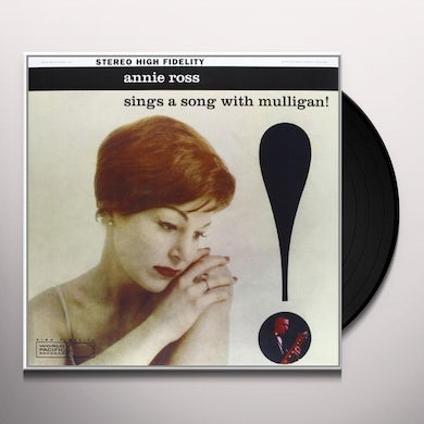 Annie Ross SINGS A SONG WITH MULLIGAN Vinyl Record