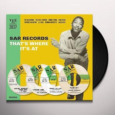 SAR RECORDS-THATS WHERE ITS AT / VARIOUS Vinyl Record