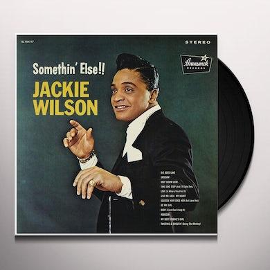 Jackie Wilson SOMETHIN ELSE Vinyl Record