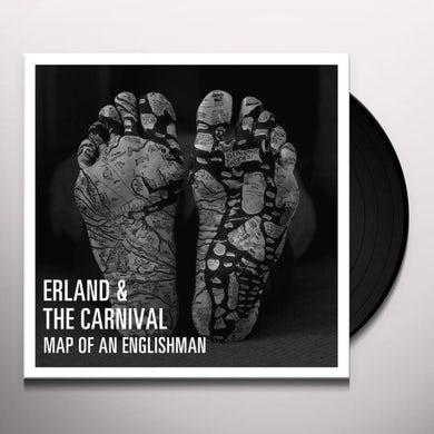 Erland & The Carnival MAP OF AN ENGLISHMAN Vinyl Record