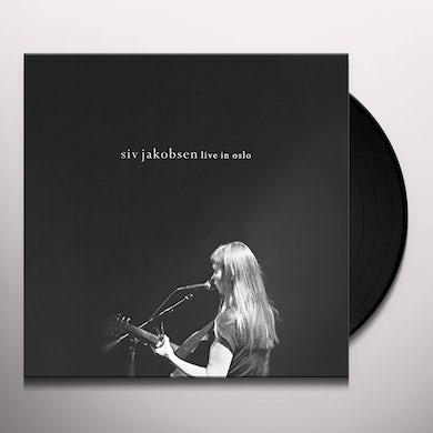 Siv Jakobsen LIVE IN OSLO Vinyl Record