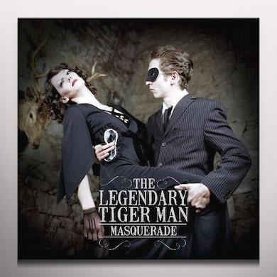 The Legendary Tigerman MASQUERADE (CLEAR VINYL) Vinyl Record - Colored Vinyl, UK Release