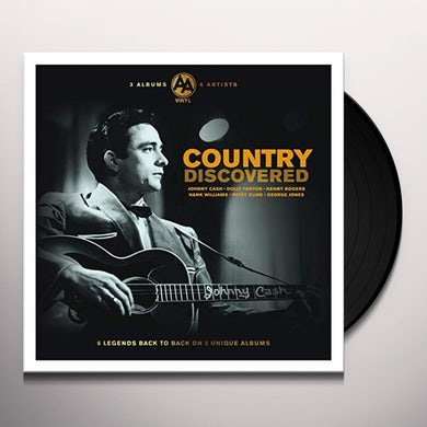 Country Discovered / Various Vinyl Record